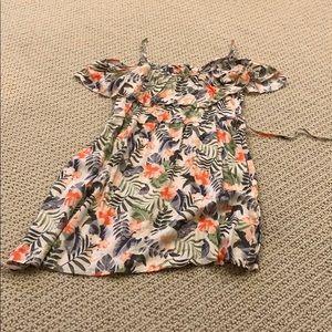 Hollister Patterned Mini Dress
